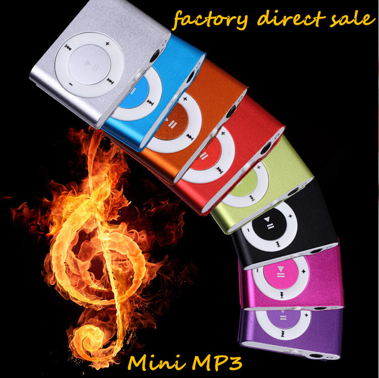 Fashion High Quality Mini Clip Mp3 Player With TF Card Slot Electronic Products sports Metal mini MP3 only a Mp3 free Shipping(China (Mainland))
