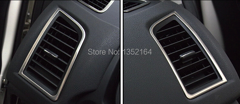 buy auto interior air conditioning vent trims for mitsubishi asx stainless. Black Bedroom Furniture Sets. Home Design Ideas