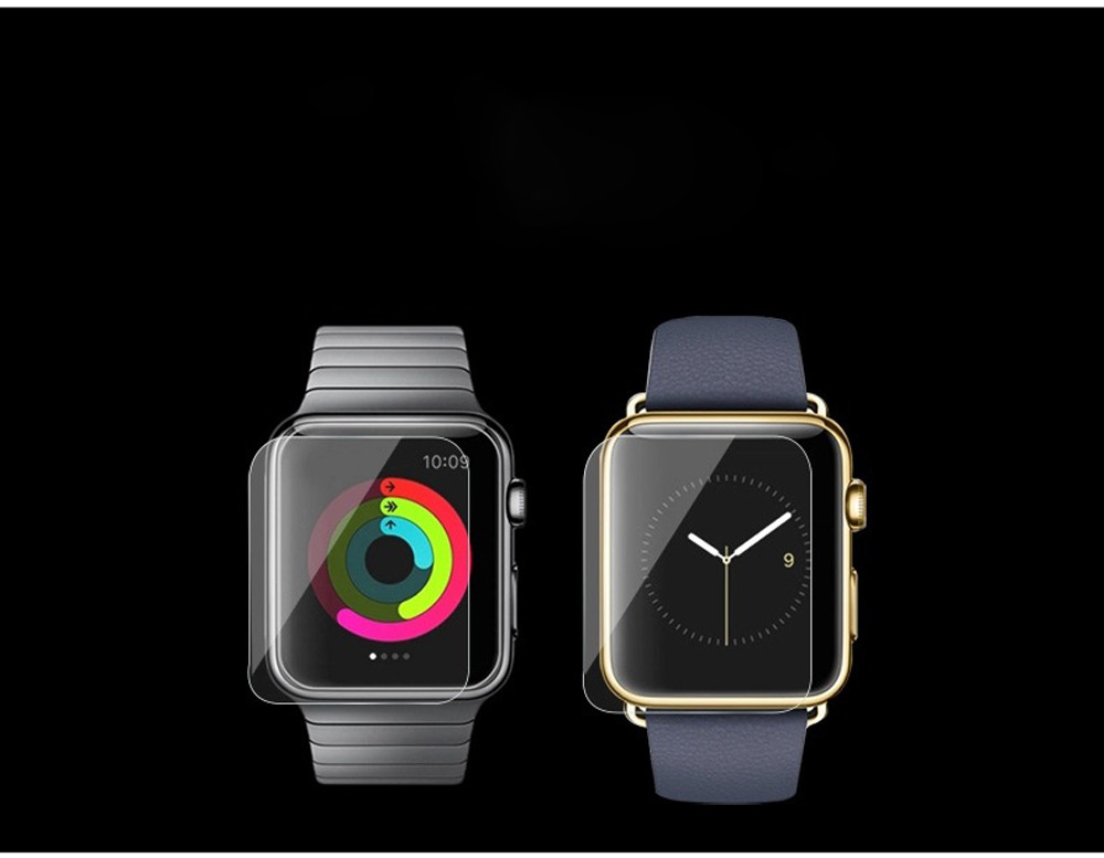 9H 0.2mm Screen Tempered Glass Film For Apple Watch 42mm 38mm Screen Protector Smart watch Series 1 2