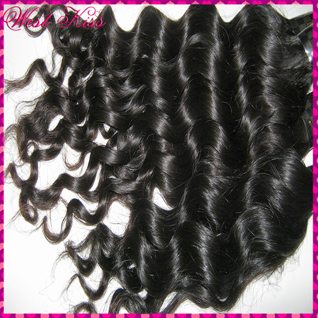 7A Filipino Natural Loose Deep wave Virgin hair Extensions,3pcs/lot mixed lengths,nice curl&soft, try this one!