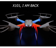 MJX X101 Quadcopter 2.4G RC drone/drone rc helicopter 6-axis gyro can add C4005 c4008 camera(FPV) vs JJRC H16 Tarantula x6 V686G