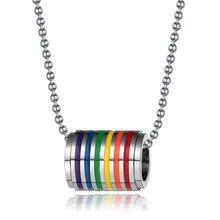 Rinhoo LGBT di Design Arcobaleno Spille Spilla della Donna Del Fumetto Mini Arcobaleno Spille Spilli Distintivo Del Collare Dei Monili del Regalo(China)