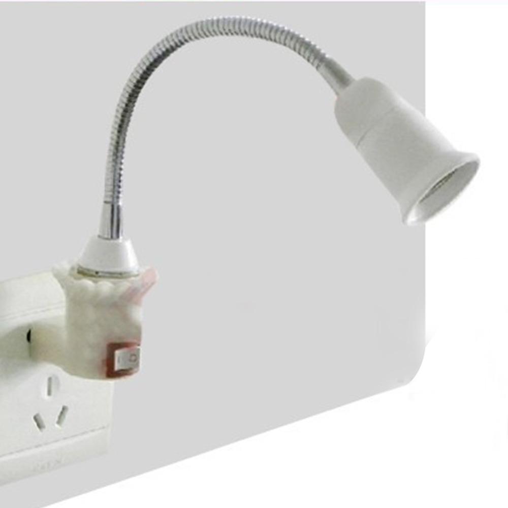 E27 led light bulb lamp holder flexible extension adapter socket led bulb light e27 bases lamp Light bulb socket