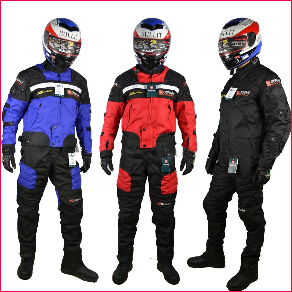 Cloth+pants Dunham duhan automobile race motorcycle jackets clothes drop resistance clothing jacket SUITS oxford - AG MOTOSTORE store