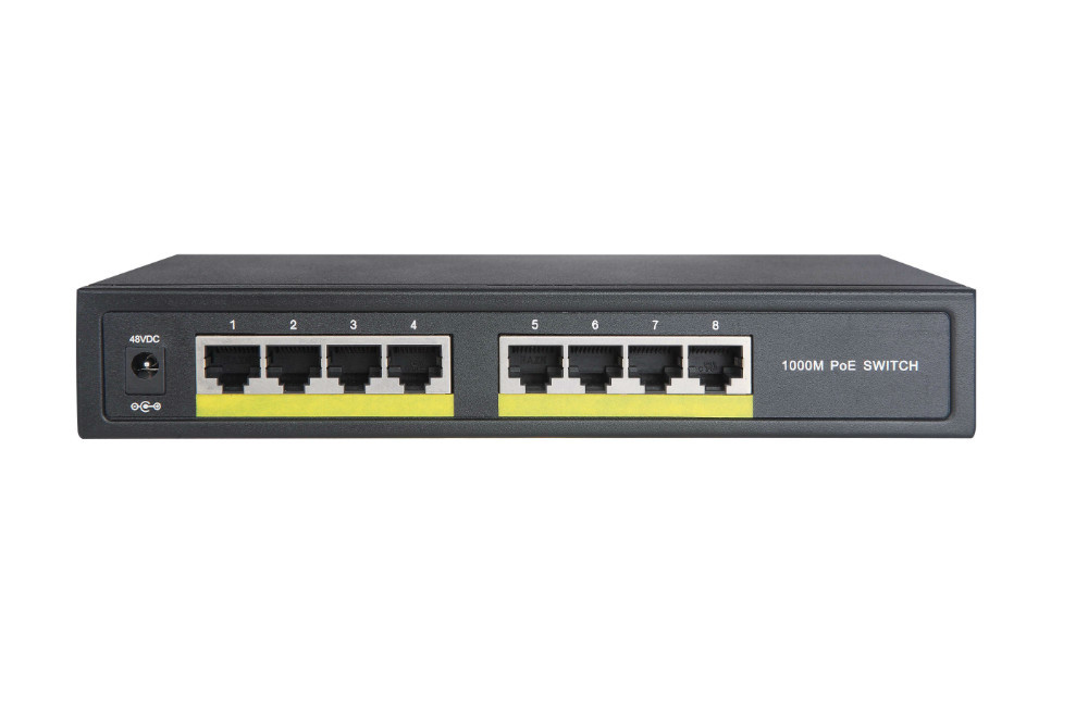 8 port full Gigabit POE Switch 10/100/1000M switch ieee802.3af/at(China (Mainland))