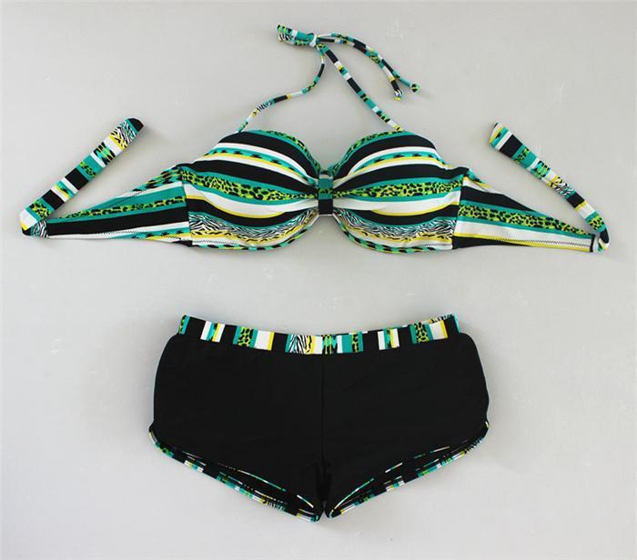 2015 новинка женщин бюстгальтер трусы бикини печать купальники женщины спорт на открытом воздухе купальный костюм одежда для пляжа бикини