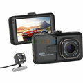 New 170 Degree Lens Dual Camera DVR Full HD 1080P Dual Lens Dash Cam Video Recorder