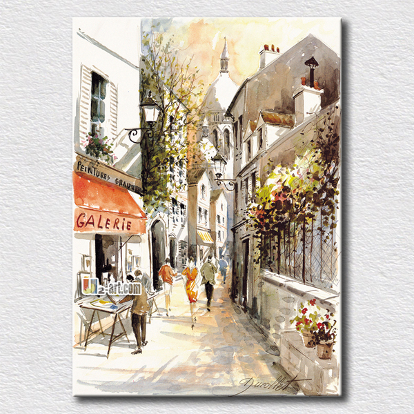 Buy Mediterranean Landscape Oil Painting