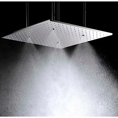 """Factory Supply simple innovating top quality shower faucet body parts,big rain Mist shower head 20""""(China (Mainland))"""