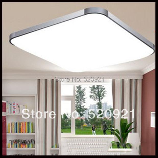 Bright Ceiling Lights: Hot popular bright led ceiling light square ceiling lamp 12W AC85-265V  acryl living room,Lighting