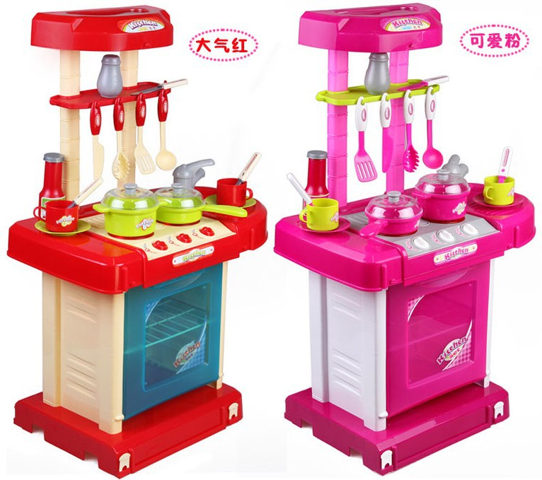 Hot sale toy set tableware child kitchen toys baby for Cheap childrens kitchen sets