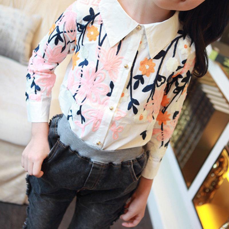 Блузка рубашка для девочки доставка