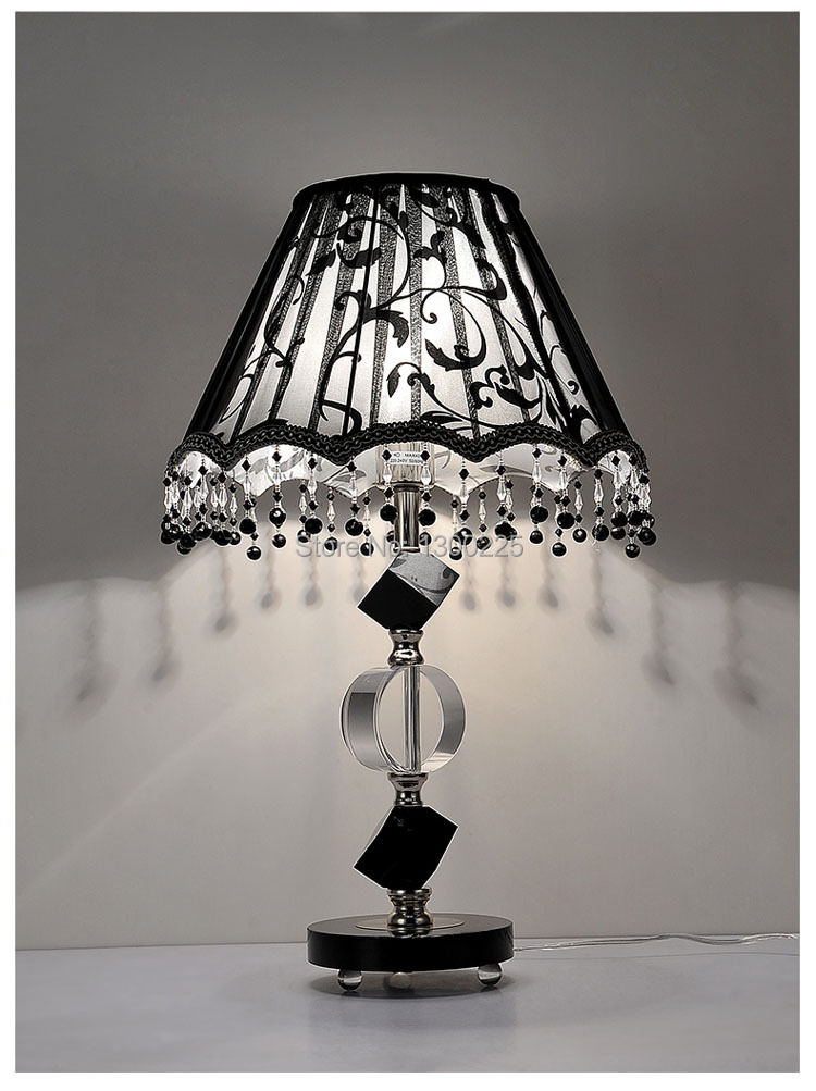 Luxury High End Crystal Table Lamps Modern European Style Desk Lamps .