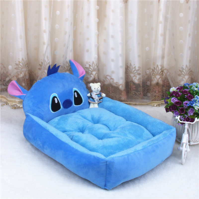 Cheap Cartoon pet dog bed house flannel kennel Six styles cat small Dog Beds/Mats Pet Supplies large Dog pad(China (Mainland))