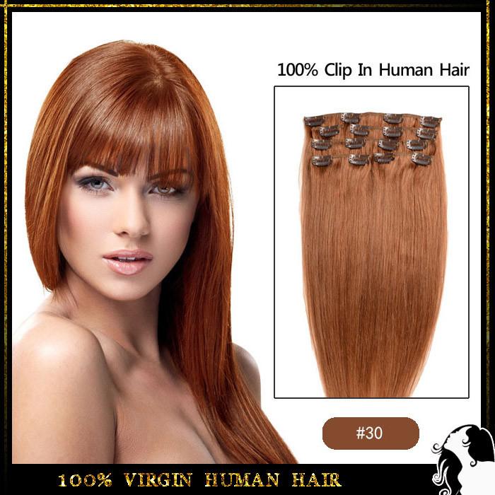 רמי קליפ שיער ב תוספות שיער אדם מלא Sead להגדיר 27 צבעים זמינים
