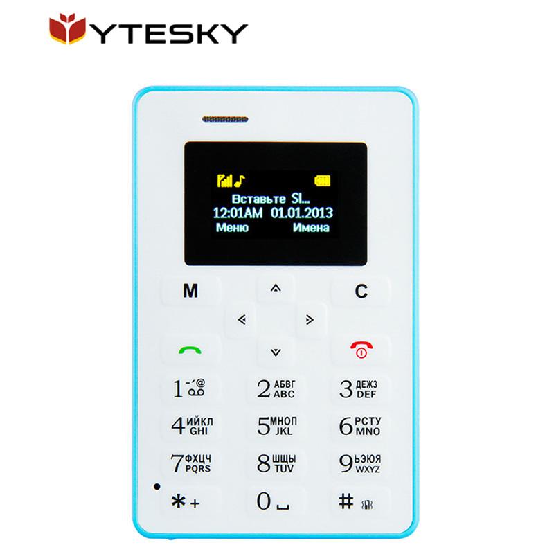 Cute Aeku M5 Mini Card GSM Phone with Russian/English/Arabic Keyboard,Ultra-thin,Student Phone,1.0 Inch/4.5mm Thickness(China (Mainland))