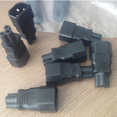 2015 New Top quality Popular 1 PCS IEC 320 C14 to C5 Adapter C5 to C14