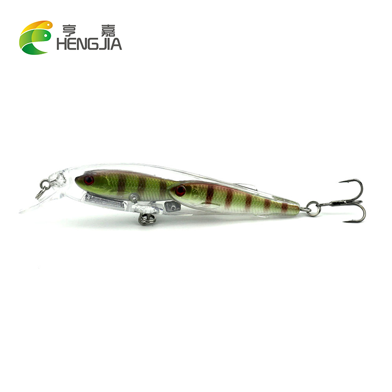 1pcs minnow wobbler fishing lures fishing tackle group for Best bait for freshwater fishing