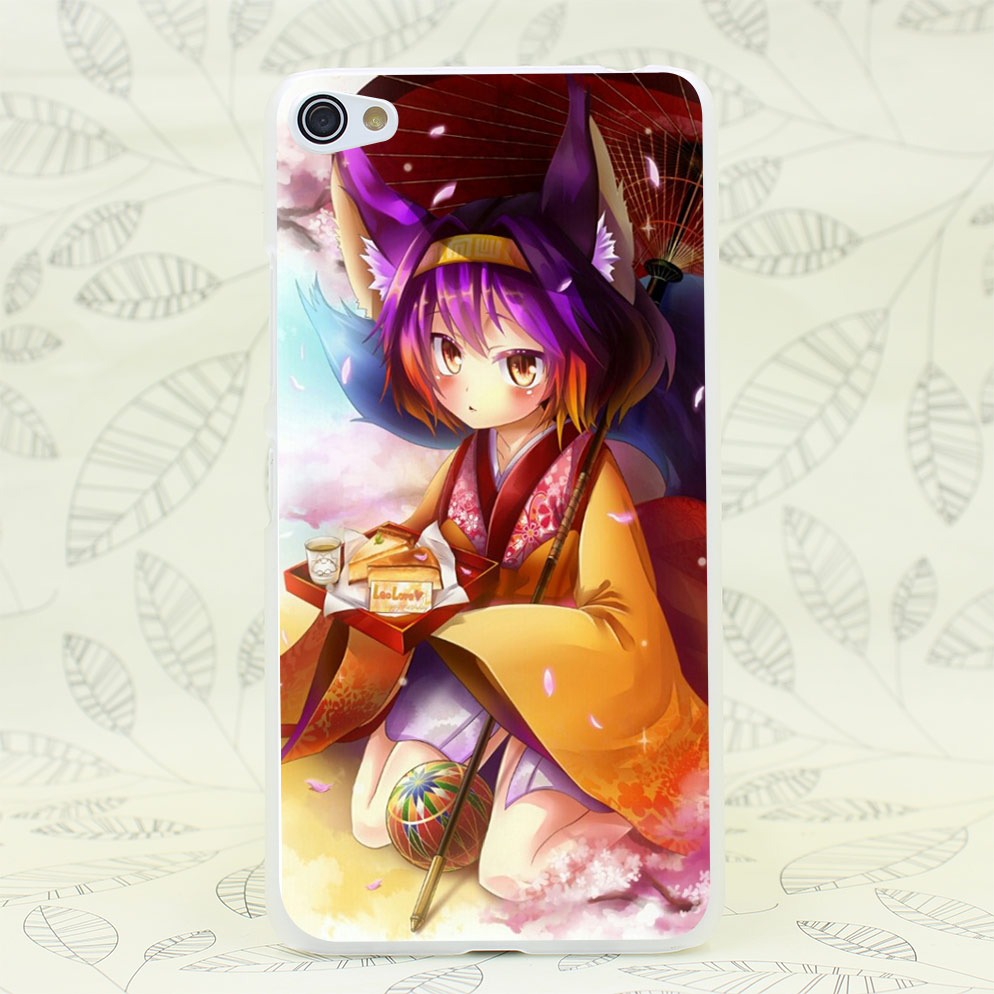545F Kitsune Anime Game Hard Transparent Case Cover for Lenovo S850 S60 S90 A536 A328(China (Mainland))
