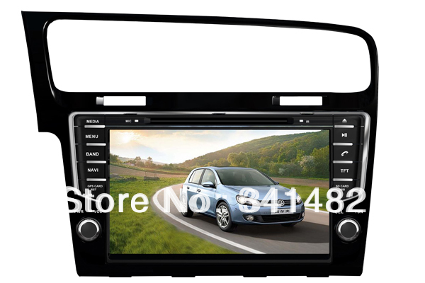 Two Din 9 inch CAR DVD PLAYER FOR VW GOLF 7 2013- Bluetooth,GPS,Ipod function tvs Steering Wheel control/ Free Maps - Shenzhen TomTop E-commerce Technology Co., Ltd. store