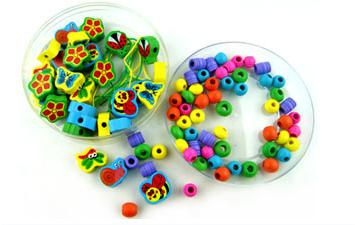 Exempt postage Wooden toy learning and education of baby toys Marine biology and insect bead 2