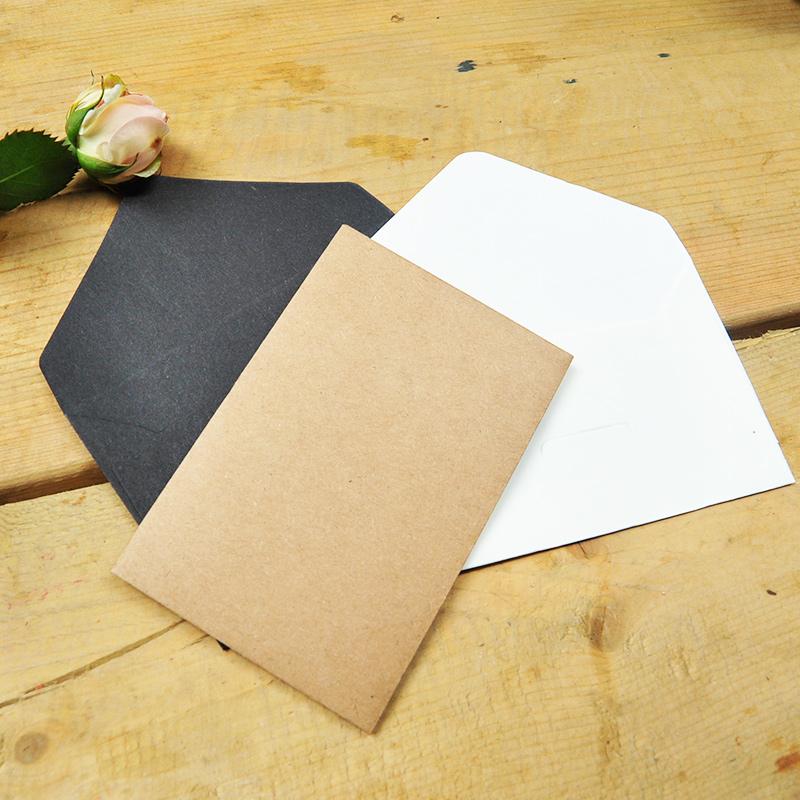 Бумажный конверт 6.7 * 10,5