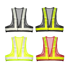 Outdoor Safety Reflective Vest Warnin Vests High Visibility Security Stripes Jacket Mesh Waistcoat(China (Mainland))