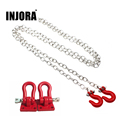 RC Rock Crawler 1 10 Accessories Tow Hook Trailer Chain Kit for Axial SCX10 Tamiya CC01