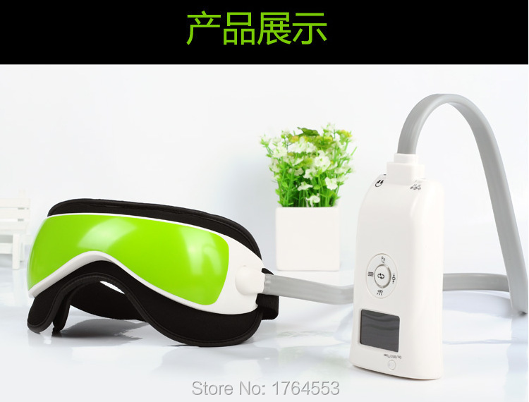 New Air Pressure Eye Massager Vibration And Heating Function Dispel Eye Bags,Electric Eye Magnetic Far-infrared Heating Machine