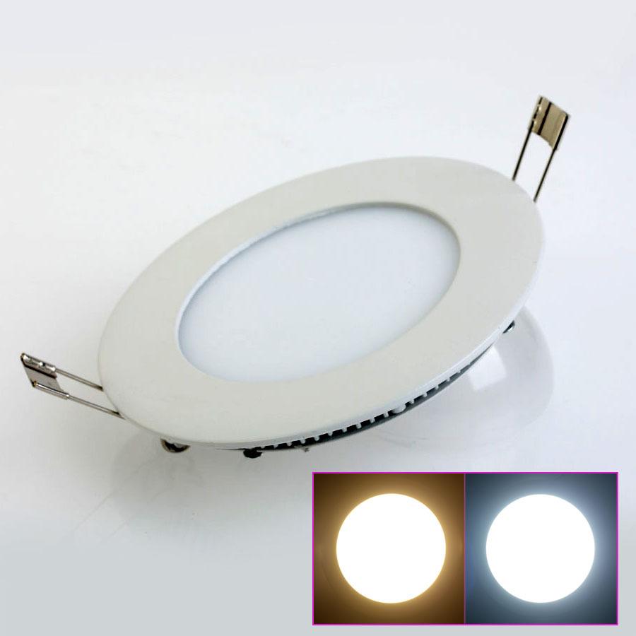 10pcs/lot 3W/4W/6W/9W/12W/15W/25W Led Panel Lighting Ceiling Light Downlight AC85-265V White /Warm White Indoor Lighting<br><br>Aliexpress