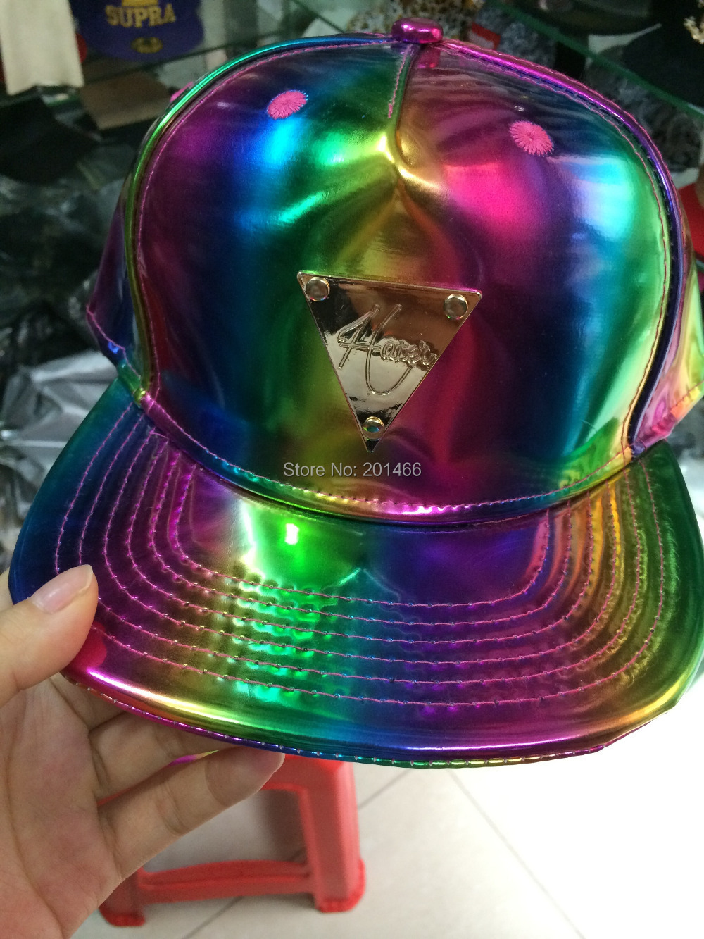Exclusive style Hip Hop Adjustable GALAXY HATER leather Snapback Caps hats Baseball ! - we only sell good quality caps store