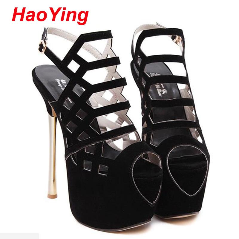 sexy strappy heels peep Toe high heels sandals women pumps ladies sandals for women summer shoes pumps gladiator heels D464