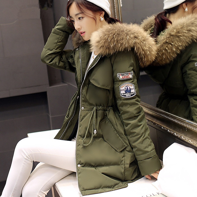 Womens Green Parka Jacket With Fur Hood - Best Jacket 2017