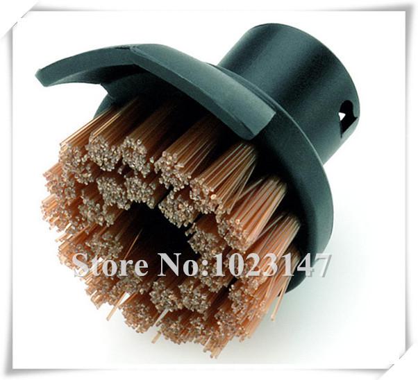 Гаджет  Free Shipping ! Karcher Steam Cleaner Brush Round Brush with Scraper for SC952,SC1020,SC1052,SC1122,SC1125,SC1402 etc. None Бытовая техника