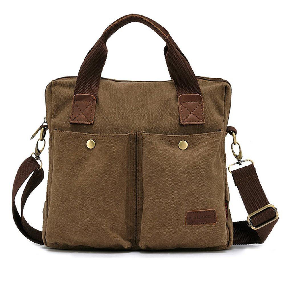KAUKKO Business Men Briefcase Shoulder Bag Canvas Messenger Casual Handbag Briefcases 2016 Hot Sale<br><br>Aliexpress