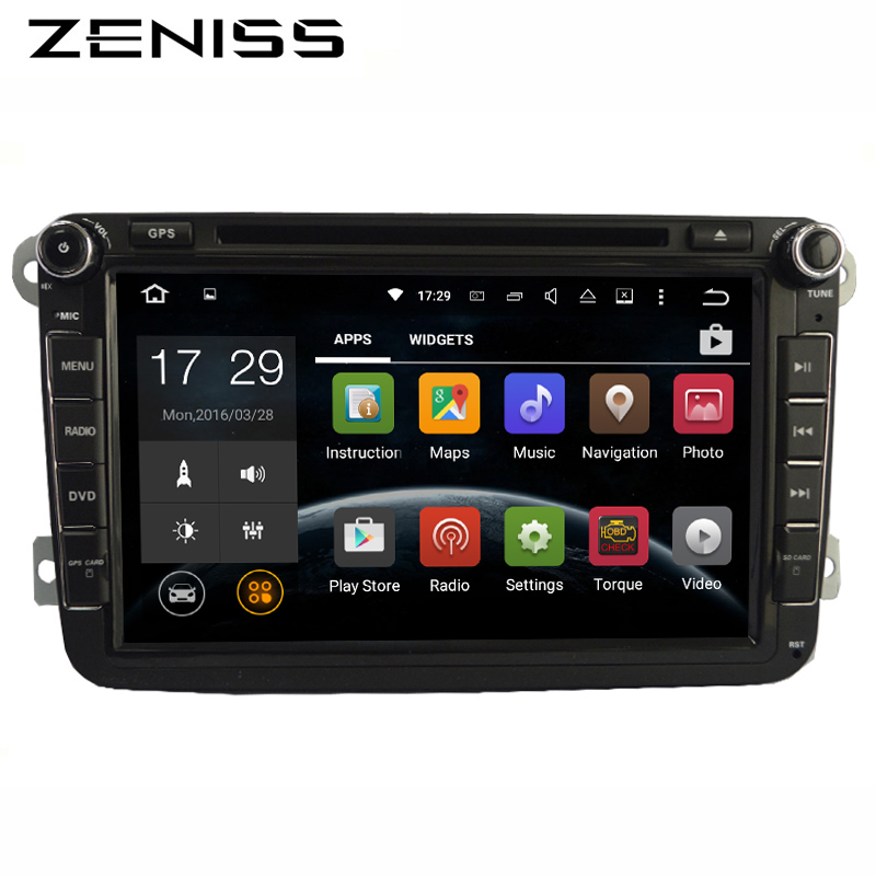 Free shipping QuadCore Android car dvd for VW Golf Polo Passat Tiguan for skoda octaiva car dvd player car radio for passat b5b6(China (Mainland))