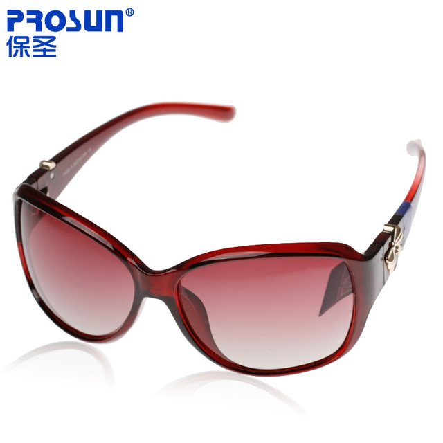 Prosun polarized sunglasses driver mirror women's sunglasses sun glasses female 71205