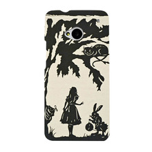 Alice Hard Black Shell Stronger Chic PC Case HTC M7 - 1989Mouse pad in store