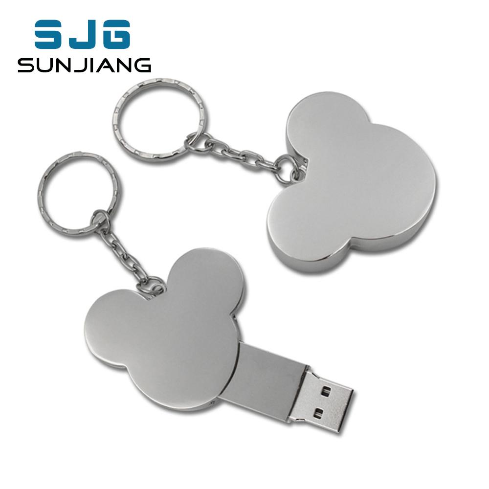 USB flash drive heart fashion16GB 8GB 32GB 4GB 64GB silver metal pendrive flash memory stick pen drive usb stick disk hot sale(China (Mainland))