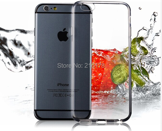 Luxury Ultra thin 0.3mm TPU Gel Clear Case iPhone 6 plus5.5 inch Slim Phone Back Cover iphone6 Transparent Freeshipping - Shenzhen Emico Technology Co., Ltd. store