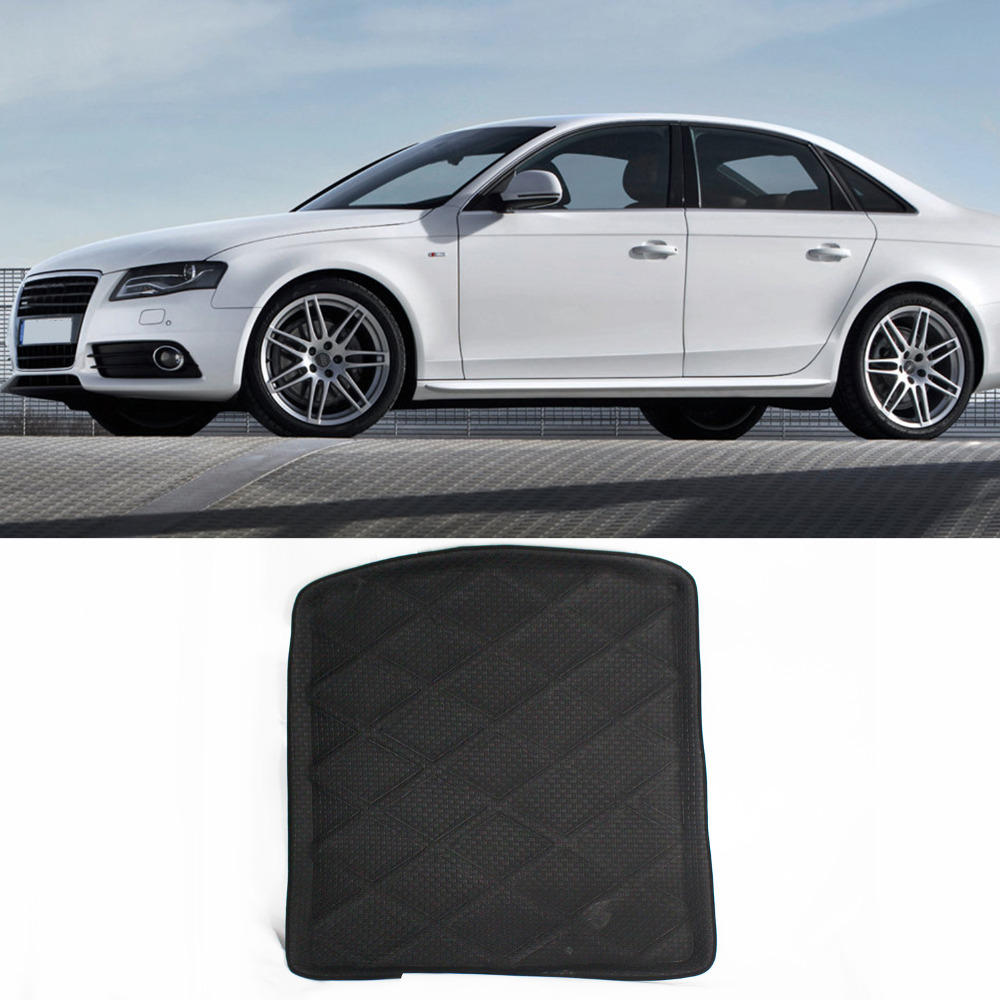 Truck Car All Weather Waterproof Top quality Design Cargo Truck Mat Carpet Rear Tray Liner Protector For Audi A4(China (Mainland))