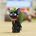Kiki s Delivery Service KIKI Cat Resin Mini Figures Leave Kwaki Cat New Design Toy Brinquedos