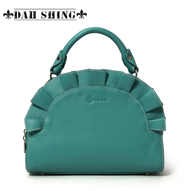 Bampo womens genuine leather handbag 2015 spring first layer of cowhide sweet gentlewomen handbag<br><br>Aliexpress