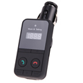 Bluetooth Car Kit Wireless Fm Transmitter Radio Adapter LCD Display FM Modulator Handsfree Car Kit MP3