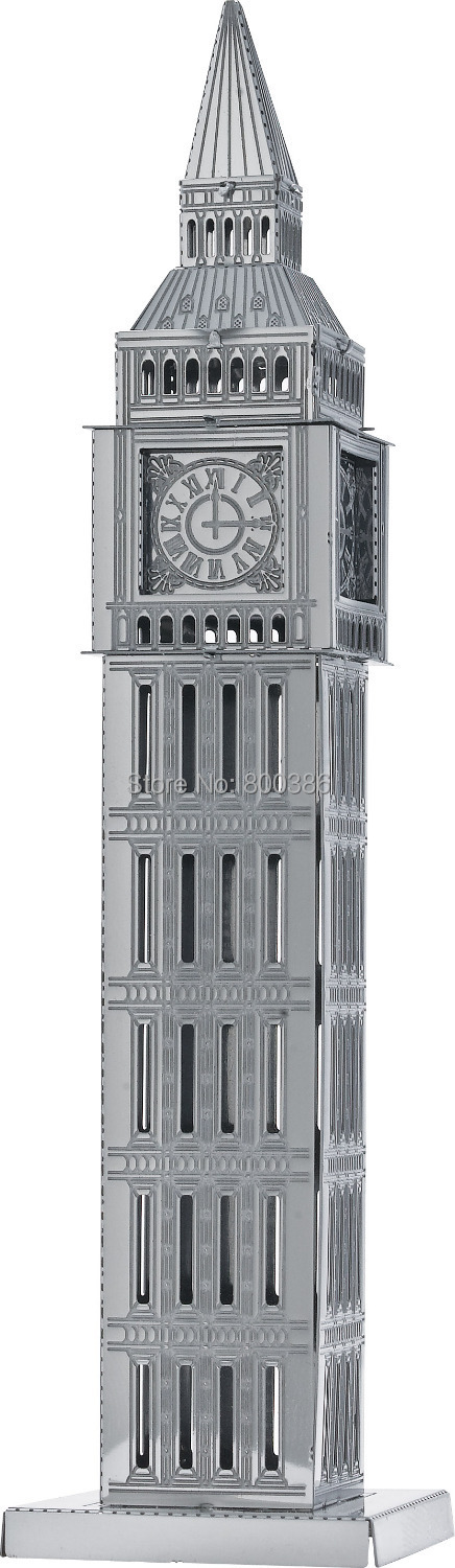 Big Ben 3D Puzzle Jigsaw 3D Metal Puzzel Model Child DIY Educational Toy&Gift(China (Mainland))