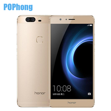 Original Huawei Honor V8 4G LTE 5.7 inch 4GB RAM 32/64G ROM Mobile Phone Android 6.0 Kirin 950 Octa Core Dual Rear 12.0MP Camera(China (Mainland))