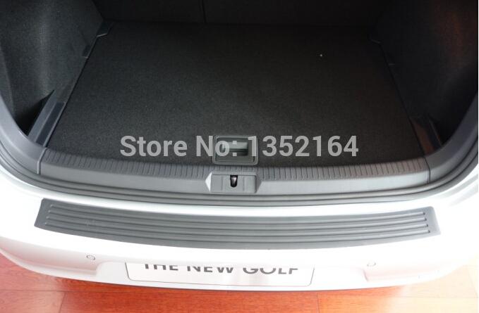rear bumper rubber protector Golf 7 6,Skoda Octavia Fabia - Shine Your Car store