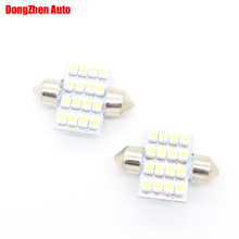 Buy 1X 31mm 24V 16 3528 Car Interior Dome Festoon Light Door Bulb Auto C5W C10W Licence Plate Light Cargo Map Reading Light Xenon for $1.21 in AliExpress store