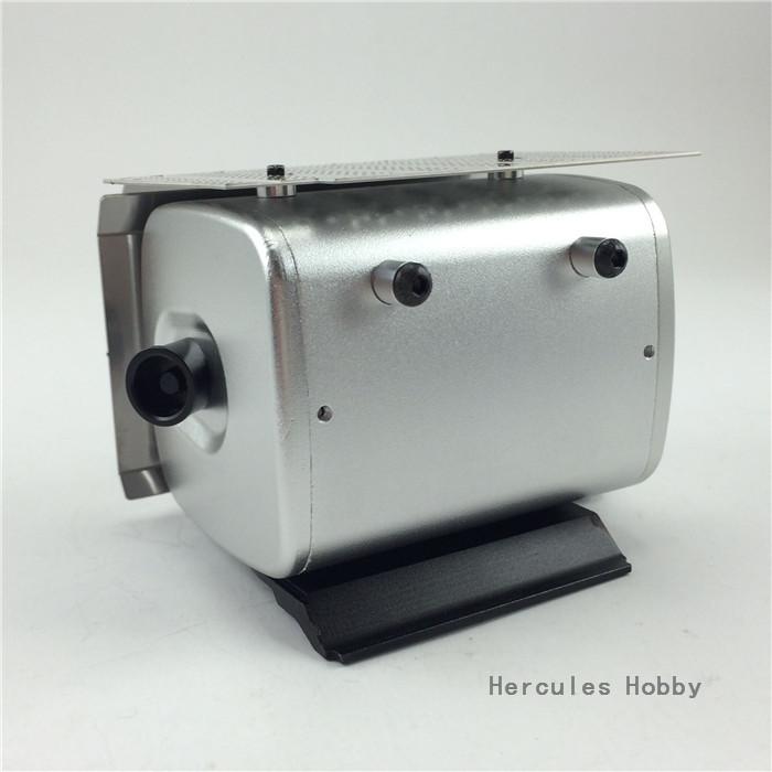 [HERCULES HOBBY] TAMIYA 1/14 Tractor Truck Accessories Metal Exhaust Tank - HERCULES HOBBY store