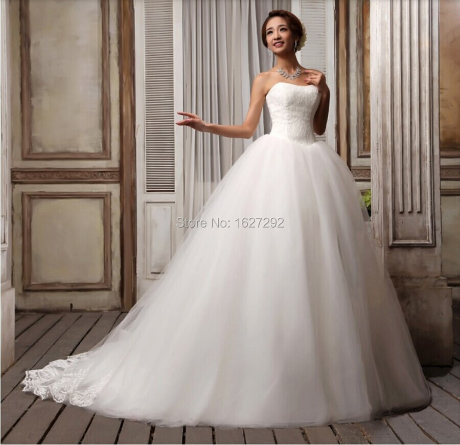 appliques ball gown wedding dress bridal gown brides dress in wedding